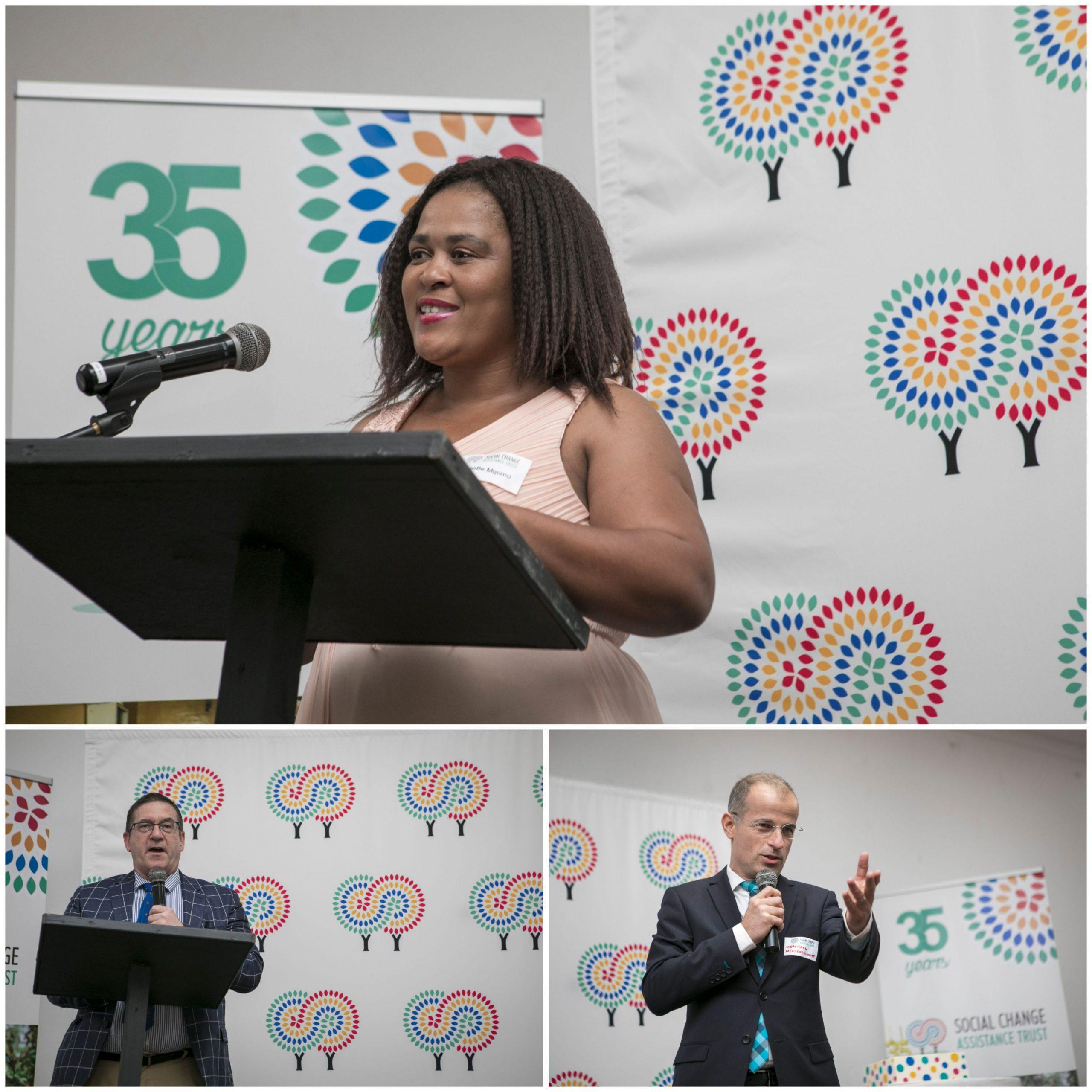 speakers 35th anniversary celebration